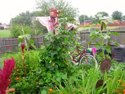 Mrs Greenbeans and Bike