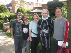 Shakespeare's Birthplace - 4/23/11